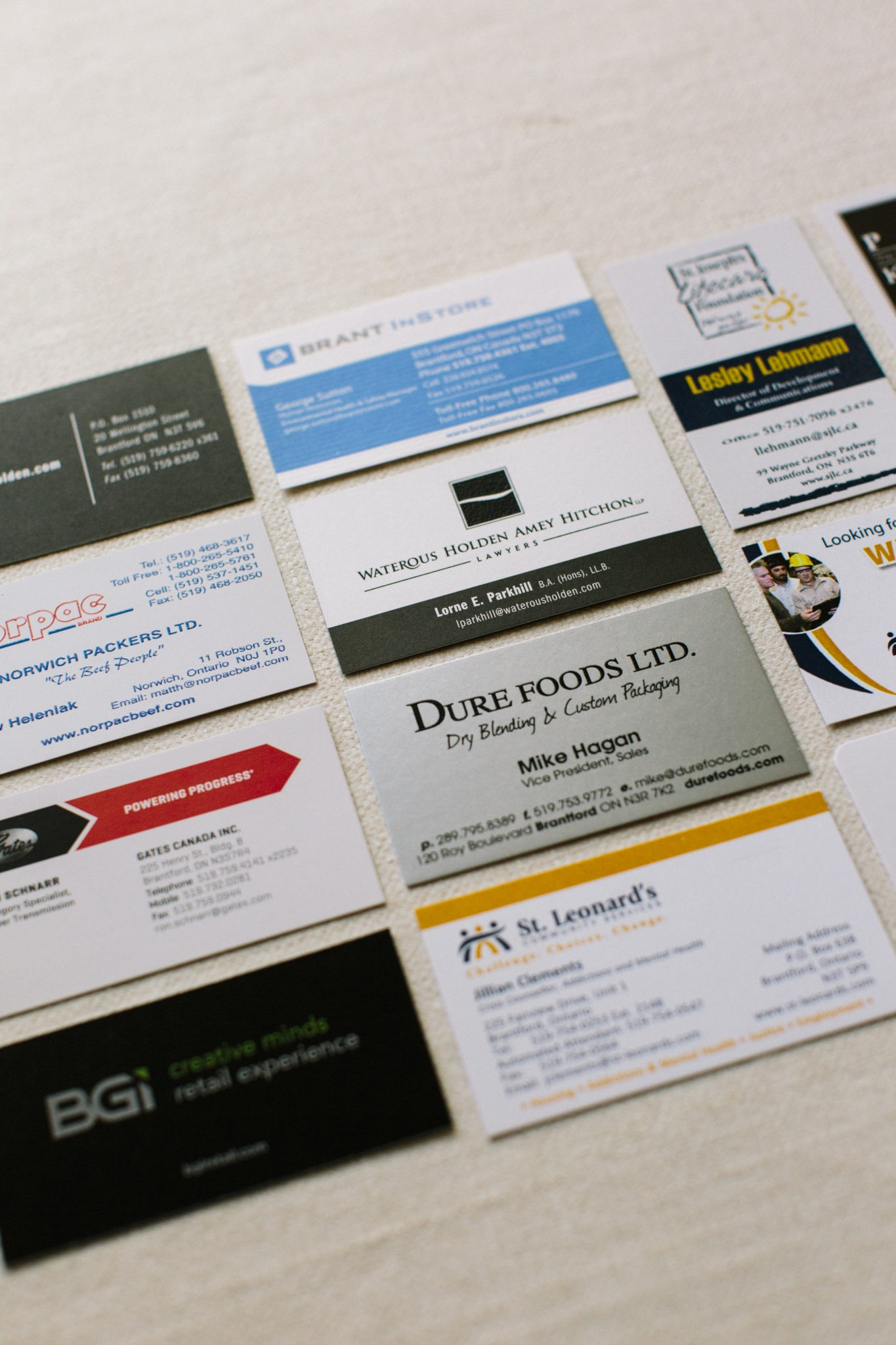 Business Cards | Bialas Printing | Offset Digital & Wide Format Printers